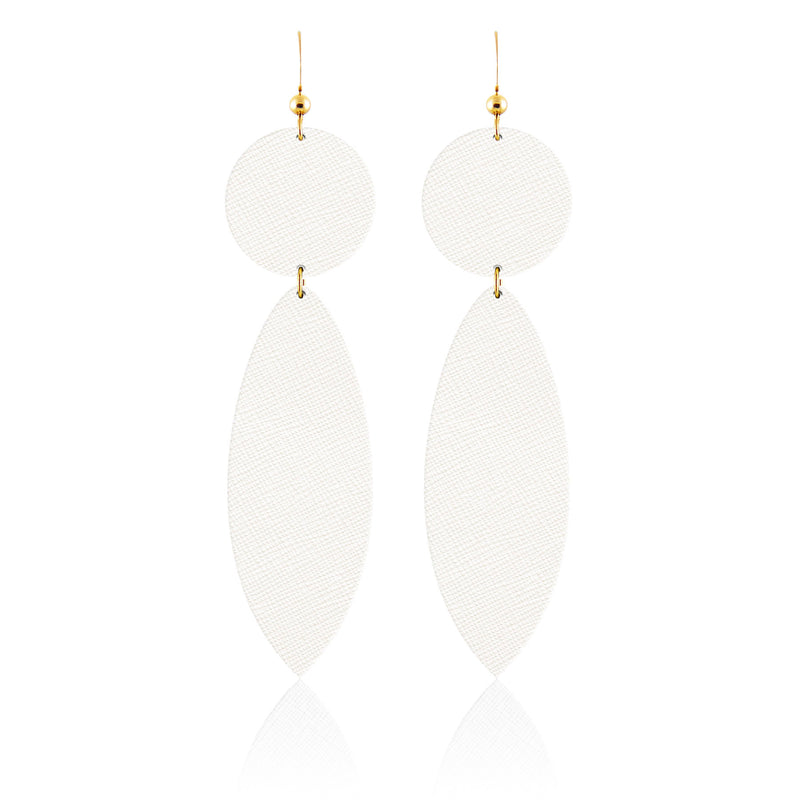 Chantilly Surf Bauble Leather Earrings