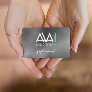 Aha Crafted Gift Card