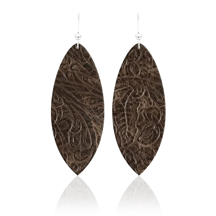 Sierra Leather Earrings