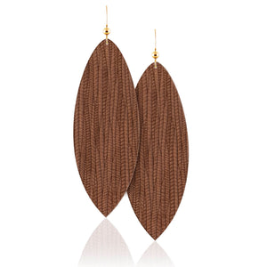 Sequoia Leather Earrings