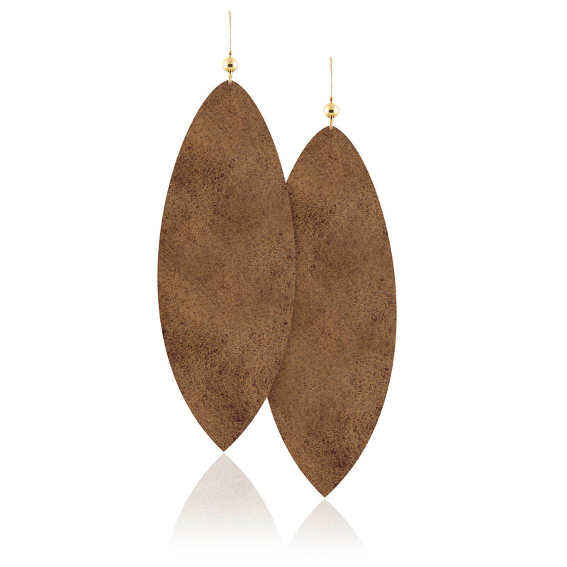 Desert Daughter Leather Earrings