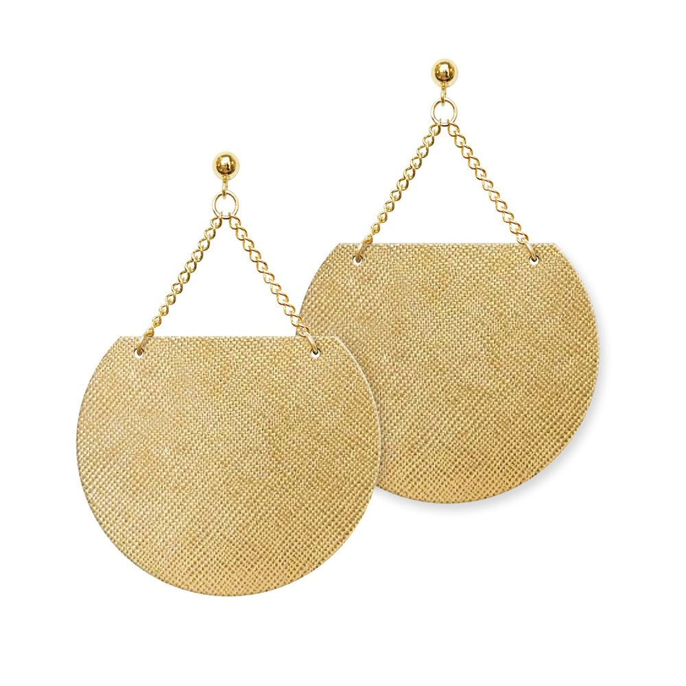 Sol Leather Earrings