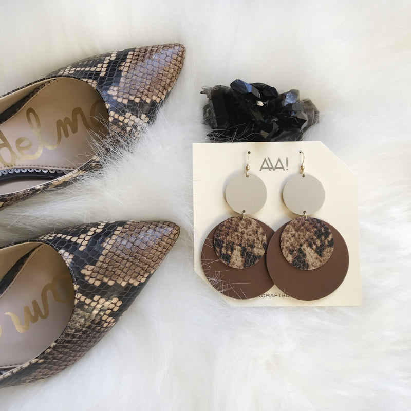 Lightweight Statement Earrings for Holiday