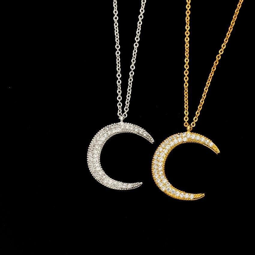 Crescent Moon Necklace - Necklace