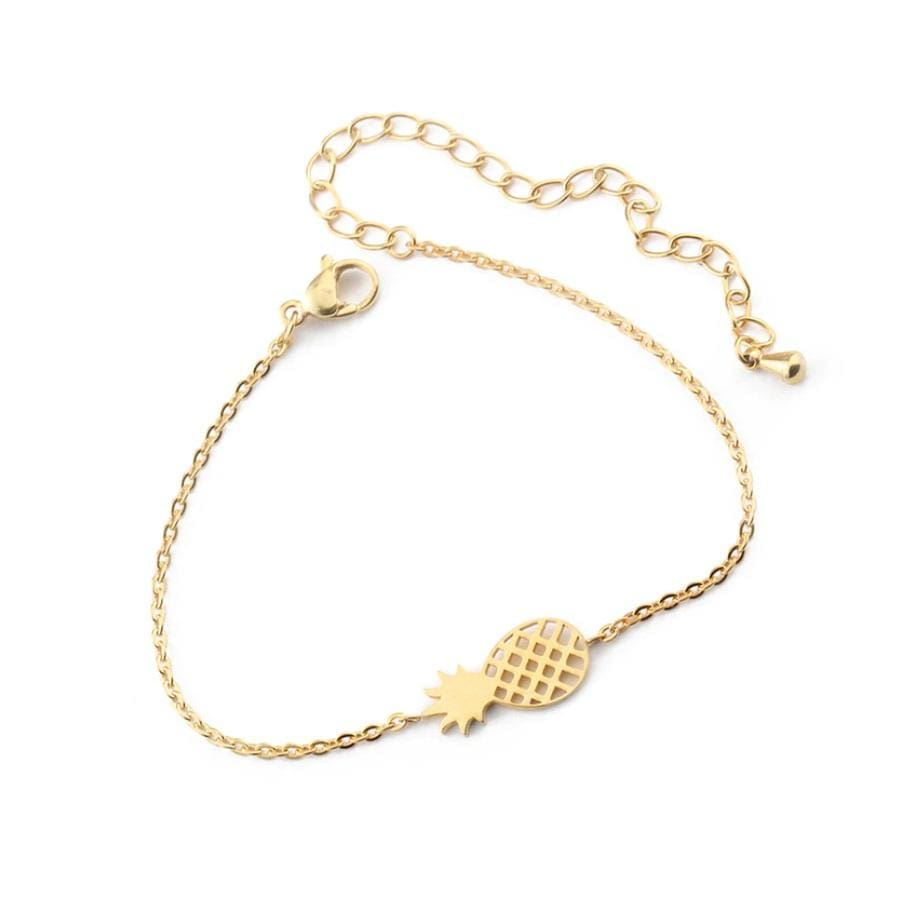 Pineapple Bracelet - Gold - Bracelet
