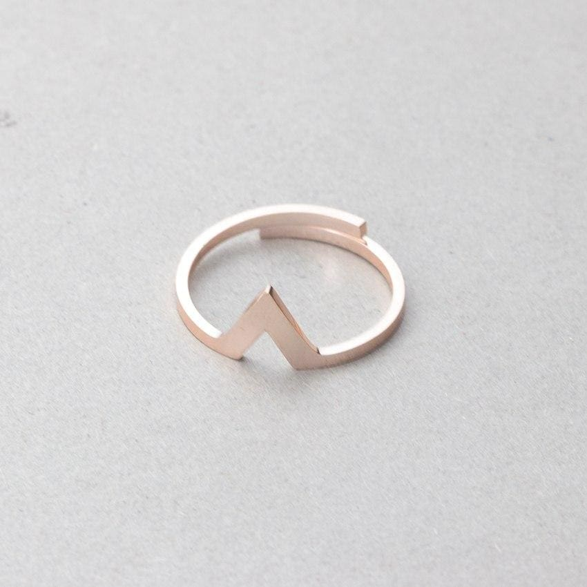 Spike Ring - Rose Gold - Ring