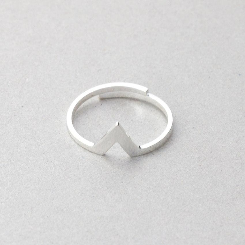 Spike Ring - Silver - Ring