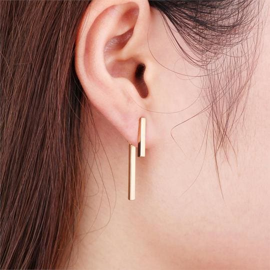 T Bar Earrings - Earrings