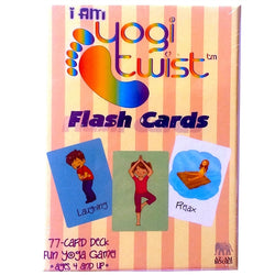 I AM Yogi Twist Flash Card Set