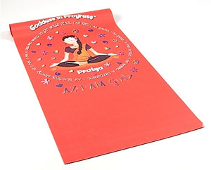 Goddess in Progress Yoga Mat