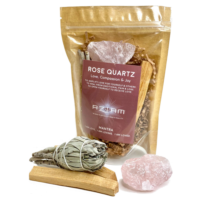 Rose Quartz Crystal Kit - I AM Love