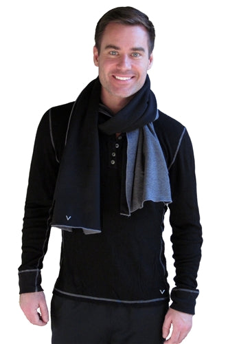 Reversible Fleece Scarf