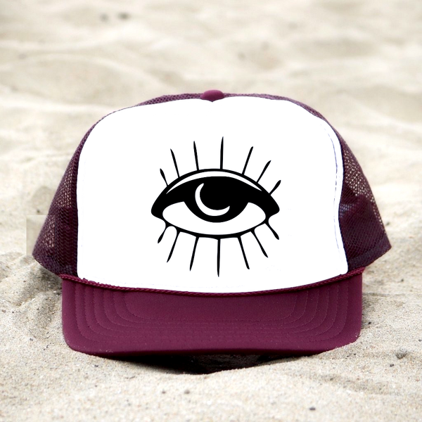 Moon Eye Trucker Hat