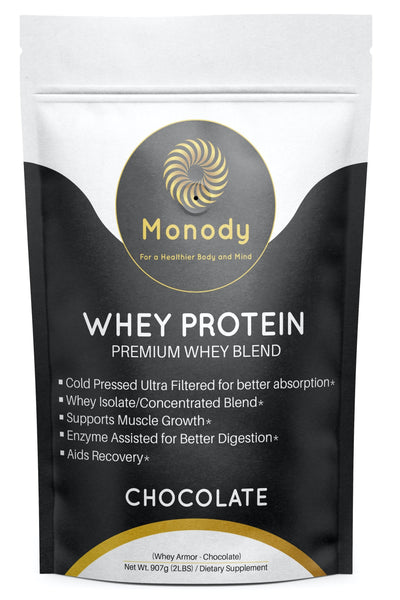 Whey Protein Chocolate Front