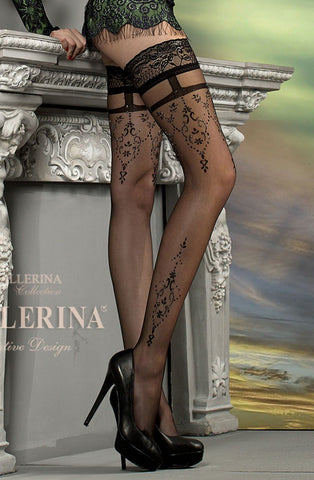 Ballerina 212 Hold Ups Black