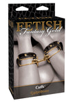 Fetish Fantasy Gold Love Cuffs - Fetshop