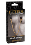 Fetish Fantasy Gold Chain Nipple Clamps - Fetshop