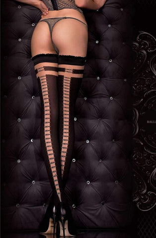 Hush Hush By Ballerina Hold Up Stockings 328 - Fetshop