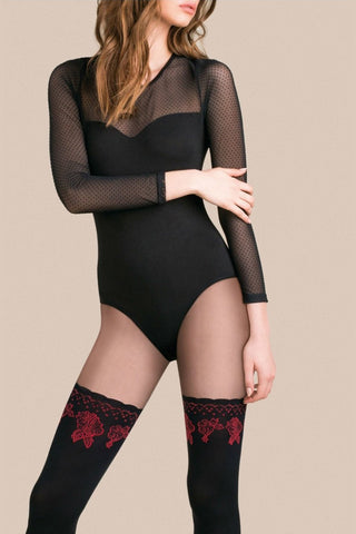 Gabriella Cheryl Tights Nero