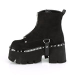 Demonia ASHES-100 Boots Suede