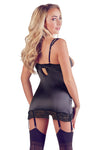Abierta Fina Decorative Rhinestone Basque