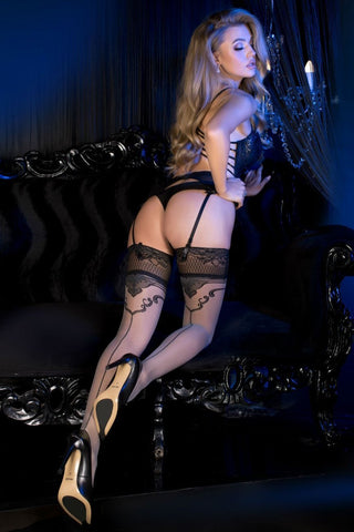 Ballerina 493 Grey Hold Ups