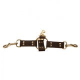 Bound Nubuck Leather 4 Way Hog Tie