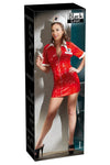 Black Level Nurse Dress Red