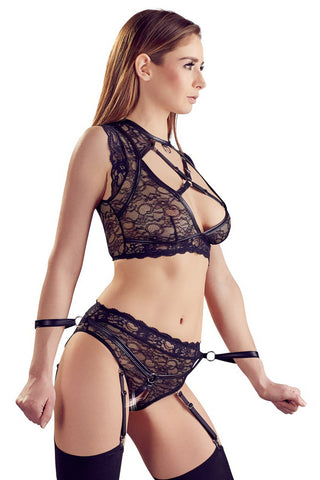 Cottelli Bondage Erotic Lingerie Set