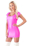 Cottelli Party Pink Wetlook Dress