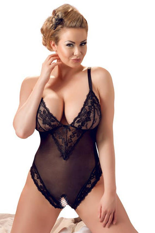 Cottelli Collection Plus Size Crotchless Body
