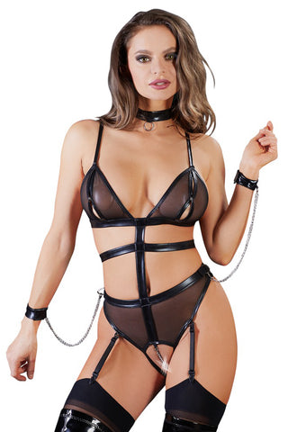 Cottelli Bondage Crotchless Body with Chains