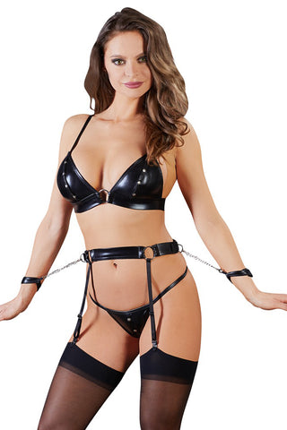 Cottelli Bondage Suspender Set