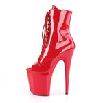 Pleaser FLAMINGO-1021 Boots Red
