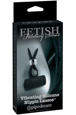 Fetish Fantasy Vibrating Silicone Nipple Lassos