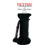 Fetish Fantasy Deluxe Silky Rope Black