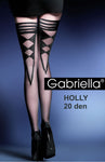 Gabriella Holly Holdups Nero