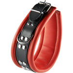 Hidden Desires Collar Red/Black Small