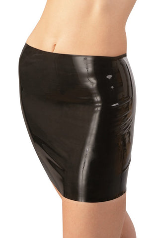 LATE-X Latex Mini Skirt