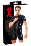 LATE-X Mens Latex Playsuit