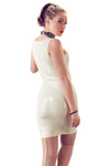 LATE-X Latex Mini Dress White
