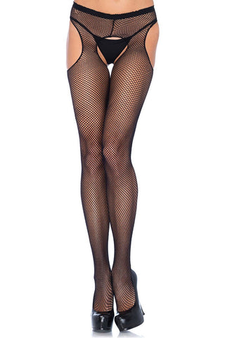 Leg Avenue Plus Size Suspender Pantyhose | Angel Clothing