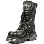 New Rock Flame Boots with Demon Skull M.107-S2