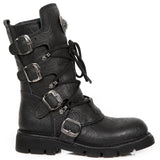New Rock Vintage Flower Comfort Light Boots M.1473-S43
