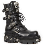 New Rock Boots Skull Design M.375-S1