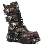 New Rock Vintage Flower Reactor Boots M.391-S26