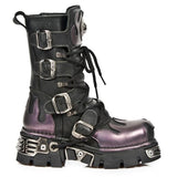 New Rock M591 S5 Boots Purple Flame