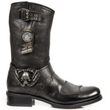 New Rock Biker Boots M.GY07-S10