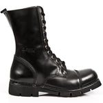 New Rock Military Combat Boots M.NEWMILI10-S1