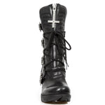 New Rock Trail Boots with Cross and Bats M.TR090-S1
